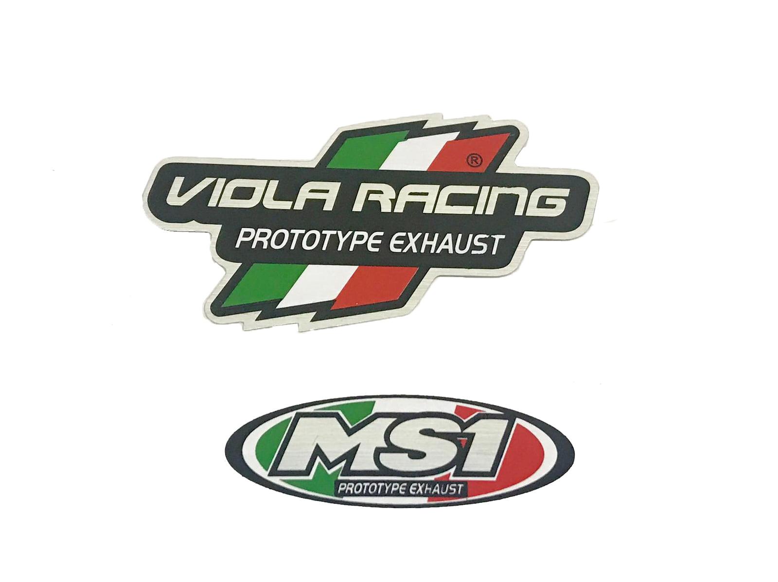 ADESIVO ORIGINAL MS1 VIOLA RACING