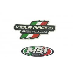 ADESIVO ORIGINAL MS1 EX/MX VIOLA RACING