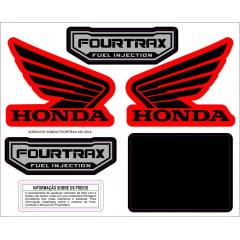 ADESIVOS HONDA FOURTRAX 420 2014