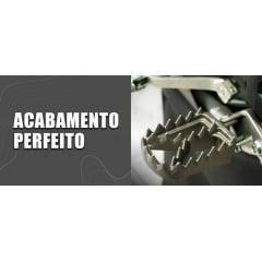 PEDALEIRA BIKER T-REX PARA CRF 230F/CRF 250F/XR