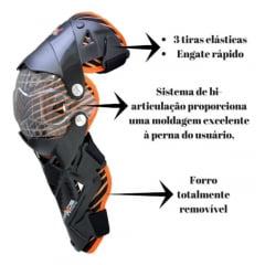 Joelheira Articulada Mattos Racing Mx Pro