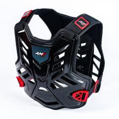 Kit proteção colete + joelheira + cotoveleira - AMX