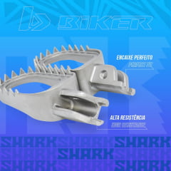 Pedaleira Shark KTM (08..16)/ HUSQ (14..15) SHERCO (12..17) HUSABERG (09..12) BIKER